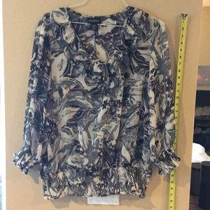 Lane Bryant 18/20W long sleeve blouse